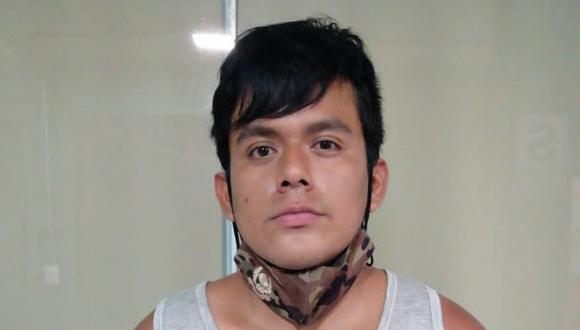 Cristian Roque, de 20 años, es sindicado de vender marihuana a delivery.