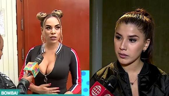 Aída Martínez aclara que tenía gases y reta a Yahaira Plasencia a demandarla │ VIDEOS