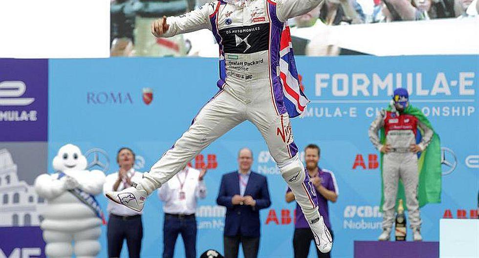 Fórmula E: Sam Bird gana en la séptima carrera disputada en Roma