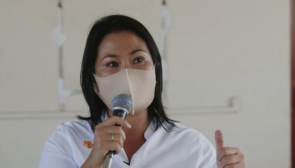 Keiko Fujimori reiteró que de llegar a la Presidencia de la República convocará a un gabinete multipartidario. (Foto: César Grados / @phot.gec)