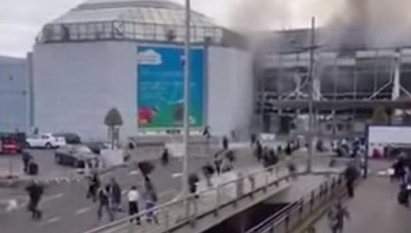 Atentados en Bélgica: Así fue la explosión en aeropuerto de Bruselas [VIDEO]
