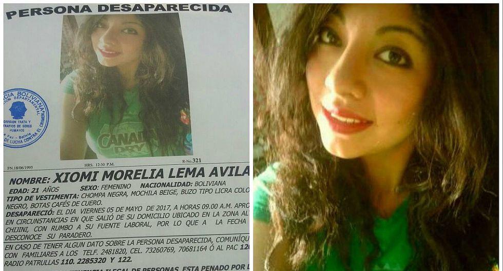Joven secuestrada en Bolivia, apareció así en Lima