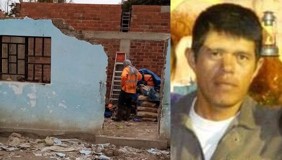 Chiclayo: El obrero Máximo Banda Alarcón (44) murió aplastado al caerle encima una pared de adobe cuando realizaba trabajos de construcción en su vivienda.
