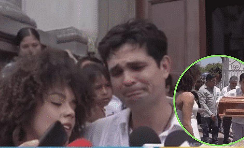 Las duras palabras de Ferdinando Valencia al romper en llanto por la muerte de su bebé | VIDEO