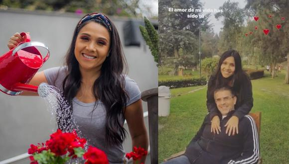Tula le dedicó emotivos mensaje a su esposo Javier Carmona. (Instagram Tula Rodríguez)