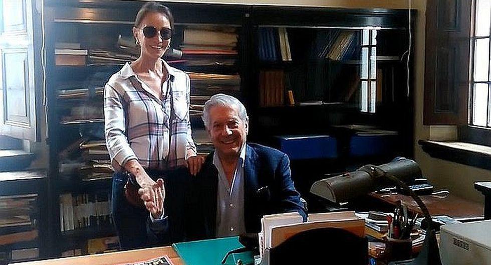 Isabel Preysler le regaló una piscina a Mario Vargas Llosa para que practique su deporte favorito