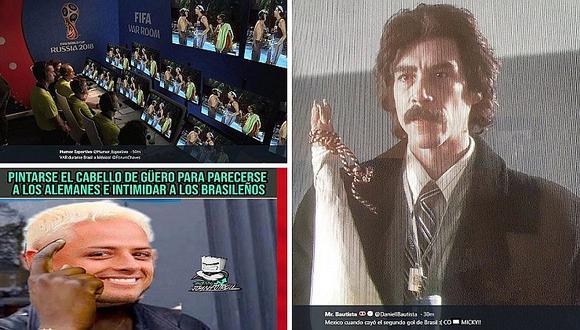 Los más divertidos memes que dejó el 2-0 de Brasil ante México