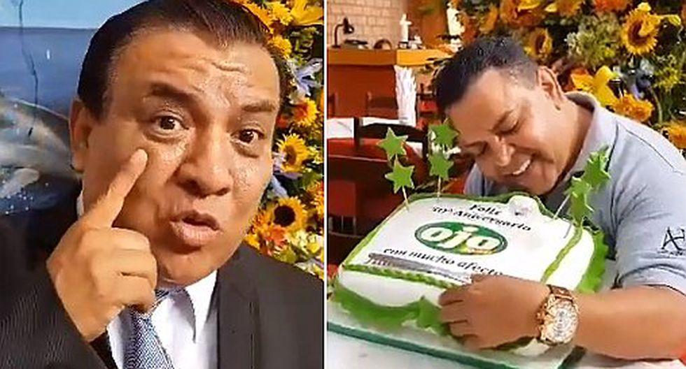 Andrés Hurtado y Manolo Rojas celebran los 50 años de diario Ojo (VIDEOS)
