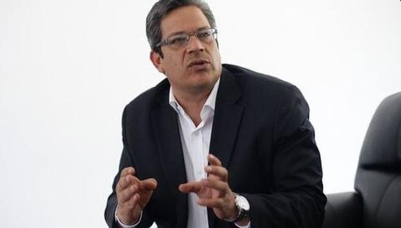 Gustavo San Martín insistió en su pedido a los hinchas a alentar desde casa. (Foto: GEC)