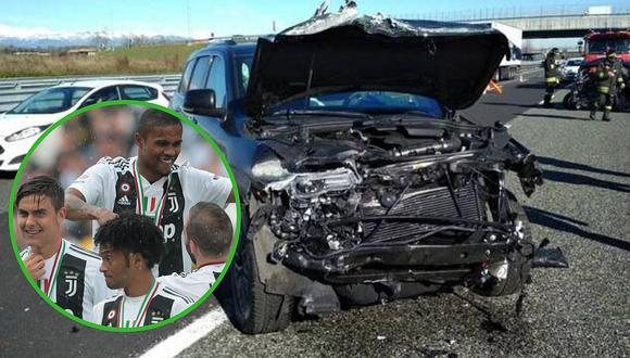 Estrella de la Juventus sufre aparatoso accidente en Italia