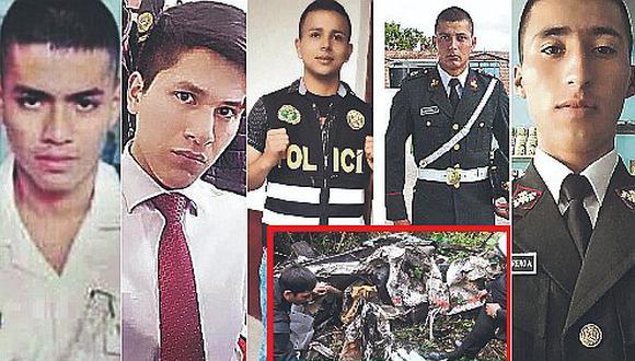 5 policías mueren cuando realizaban operativo en Amazonas