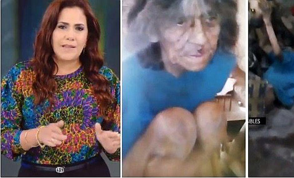 Andrea Llosa da triste noticia sobre caso de anciana maltratada por sus propios hijos (VÍDEO)