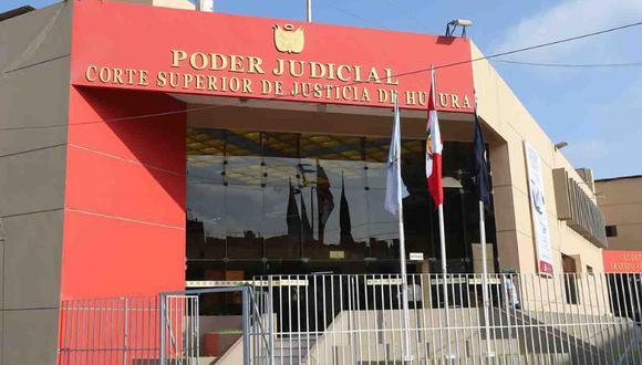 Los hechos denunciados ocurrieron en la sede de la Corte Superior de Justicia de Huaura. (Difusión)
