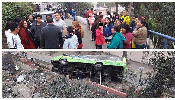 Cerro San Cristóbal: vecinos amenazan cerrar la vía luego de trágico accidente