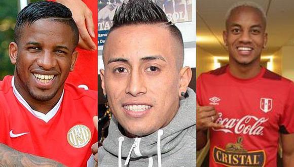 Jefferson Farfán, André Carrillo y Christian Cueva celebraron el triunfo de Perú