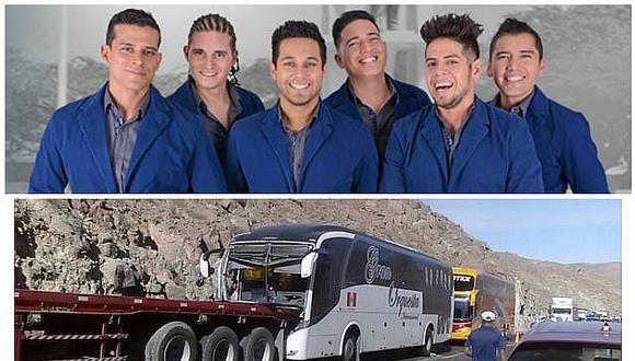 Christian Domínguez: bus de su orquesta sufre accidente y reportan ocho heridos