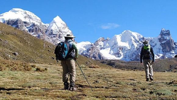 Áncash: descartan que los cuatro turistas extranjeros estén desaparecidos en la Cordillera Huayhuash (VIDEO)