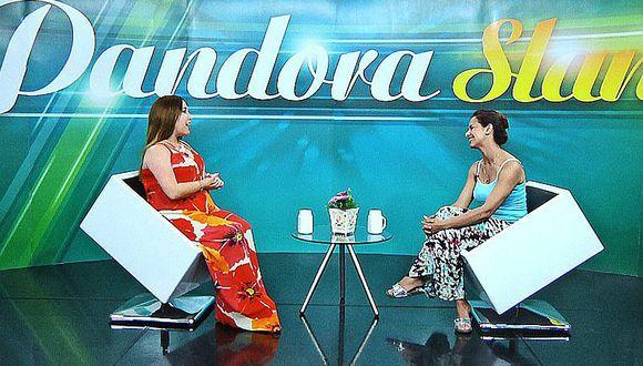 Maricielo Effio se confesará en Pandora Slam