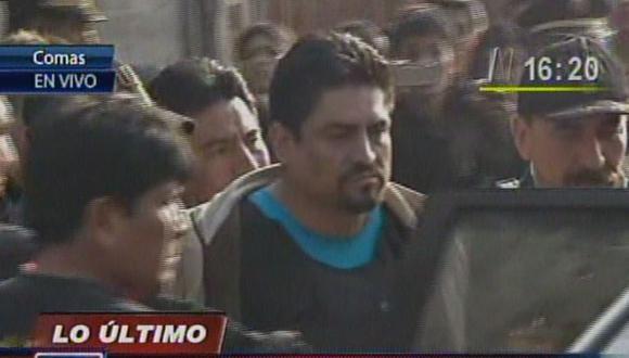 Herido durante incursión policial en Comas es llevado a la Dirincri [VIDEO]