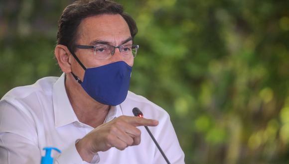 """El presidente Martín Vizcarra señaló que """"las crisis nos ofrecen también oportunidades para enmendar yerros y renovar compromisos"""". (Foto: Presidencial del Perú)"""