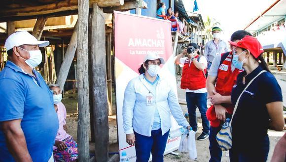 Loreto: Patricia Donayre supervisa atención a las comunidades indígenas  por el COVID-19 (Foto: Midis).