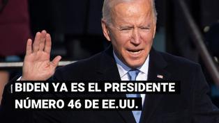 Estados Unidos: Joe Biden abre su primer discurso como presidente con un llamado a la unidad