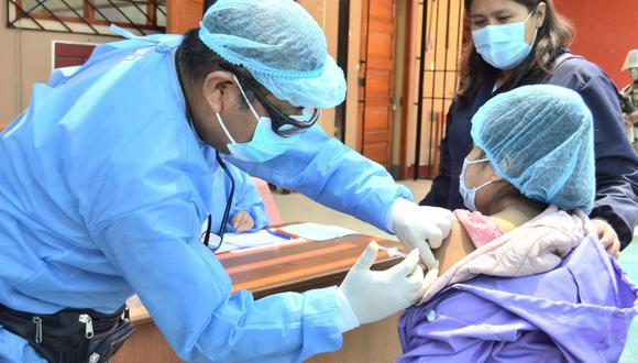 Vacunarán a niños y embarazadas para evitar brote de difteria en Apurímac (Foto: archivo)