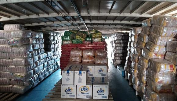 Loreto: Entregan más de 74 toneladas de alimentos a comunidades indígenas (Foto: Qali Warma)
