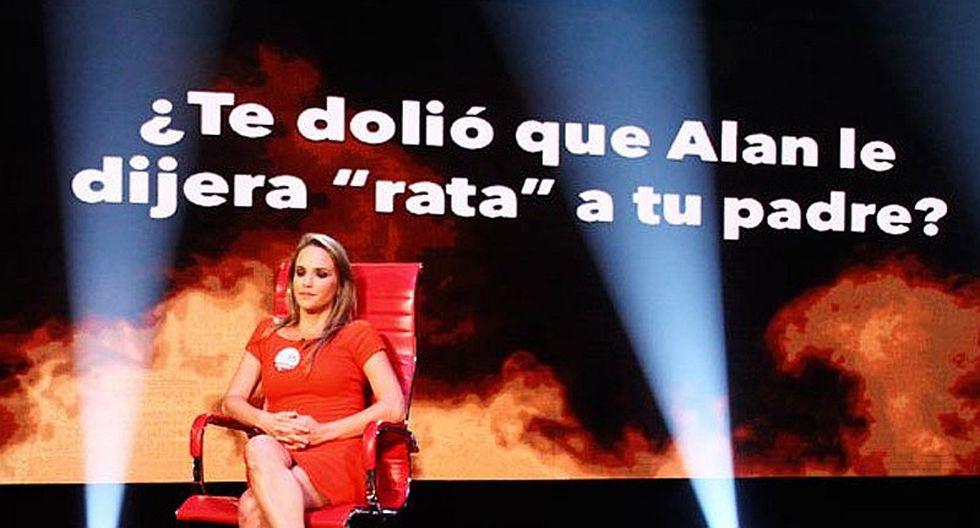"""El Valor de la Verdad: Luciana León dijo que le dolió que Alan García llamara """"rata"""" a su padre [VIDEO]"""