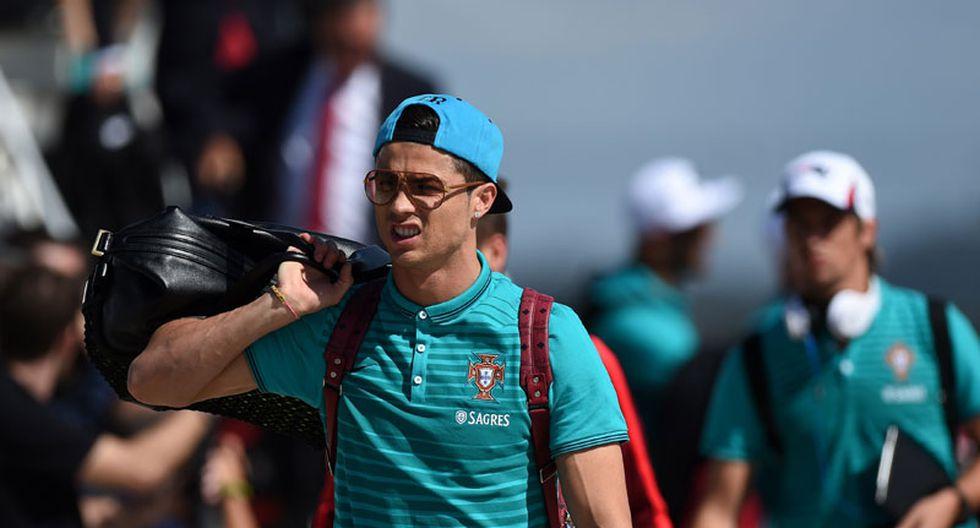 Cristiano Ronaldo ya se encuentra en Brasil