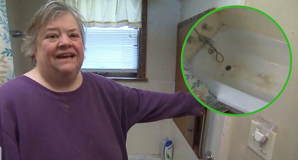 Mujer con obesidad se cae en su bañera y queda atrapada por 5 días (VIDEO)