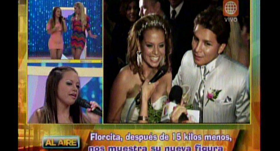 Florcita Polo sobre posible ampay de Néstor Villanueva: Estoy tranquila