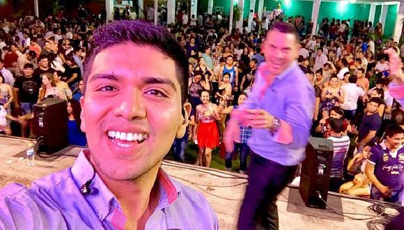 Grupo5: le tiran cerveza y agreden a Christian Yaipén luego de show (FOTOS)