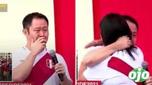 Kenji Fujimori llora al recordar su lucha contra el COVID-19 y Keiko lo abraza | VIDEO