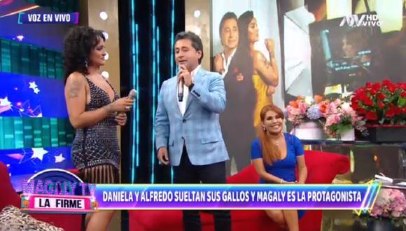 """Alfredo Zambrano y la salsera Daniela Darcourt estrenaron el video oficial del tema """"Probablemente"""". (Foto: Captura ATV)"""