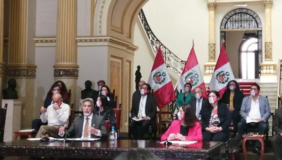 Francisco Sagasti presidirá una sesión del Consejo de Ministros este miércoles. (Foto: PCM)