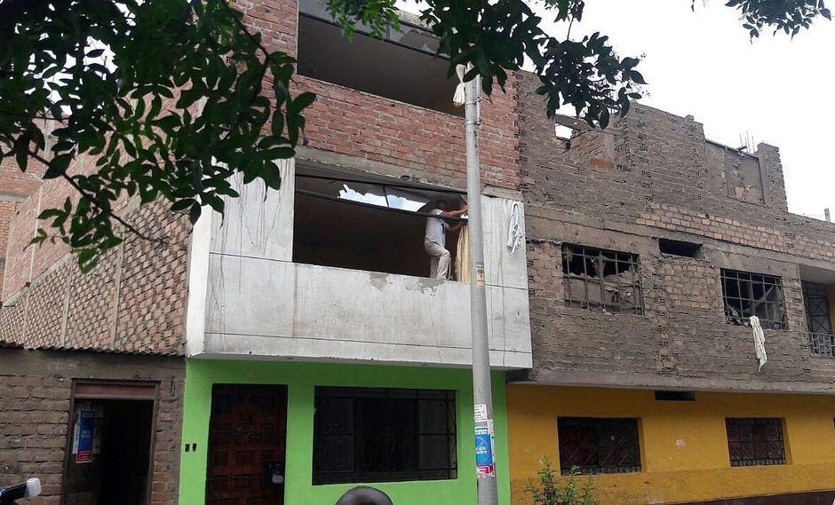 ¡Pánico! Explosión de gas daña 14 viviendas en el Cercado de Lima (VIDEO)