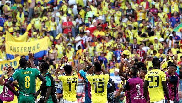 Colombia le gana con las justas a Senegal y pasa primero de su grupo a octavos de final (VÍDEO)