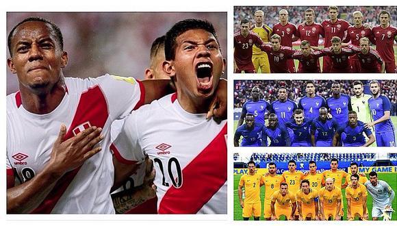 Grupo de Perú en Rusia 2018: fecha, lugar y hora de sus partidos en el mundial