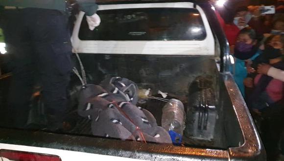 Joven cantante es encontrada muerta dentro de una habitación en Huancavelica (Foto: PNP)