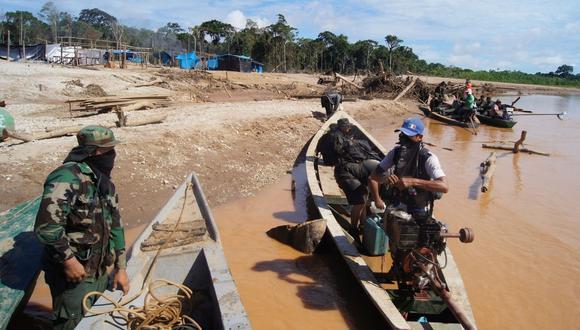 Desde que se inició el estado de emergencia, las Fuerzas Armadas han realizado 45 operativos contra la minería ilegal y explicó que no se ha dejado de trabajar en la zona.