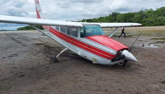 Loreto: según las primeras informaciones, el vuelo provenía de la ciudad de Yurimagua. (Foto Difusión)