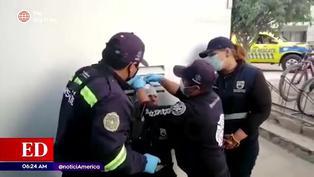 Fiscalizador de Surco terminó con la cabeza rota tras operativo contra el transporte informal