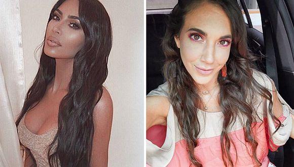 Chiara Pinasco y Kim Kardashian juntas: causa furor al posar con la celebrity
