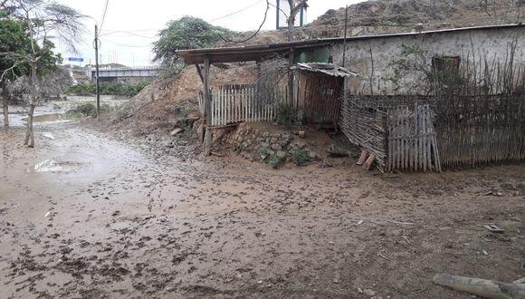 1.347 viviendas quedaron afectadas por las lluvias. (Foto: GEC)