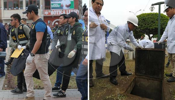 Muestran el pozo donde fue hallado el cuerpo de Xohana en parque de Cerro Azul (FOTOS)
