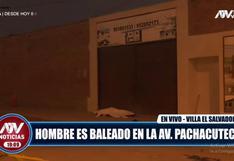 Villa El Salvador: hombre murió baleado durante frustrado asalto a empresaria│VIDEO