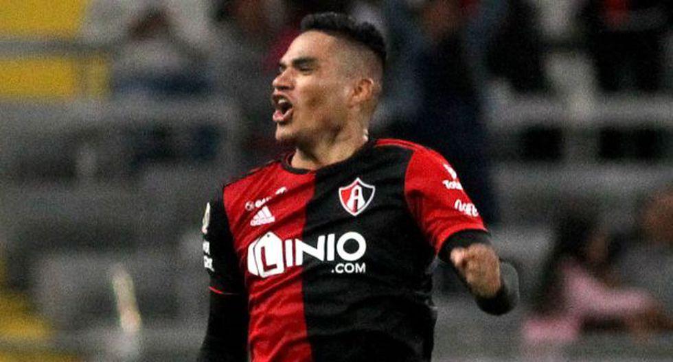 Anderson Santamaría participó en 9 partidos de Atlas en el Apertura 2019 de Liga MX. (Foto: AFP)