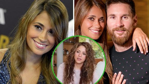 Antonella Roccuzzo comparte fotografía nada favorecedora de Shakira