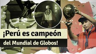 Perú venció a Alemania y se llevó el primer Mundial de Globos
